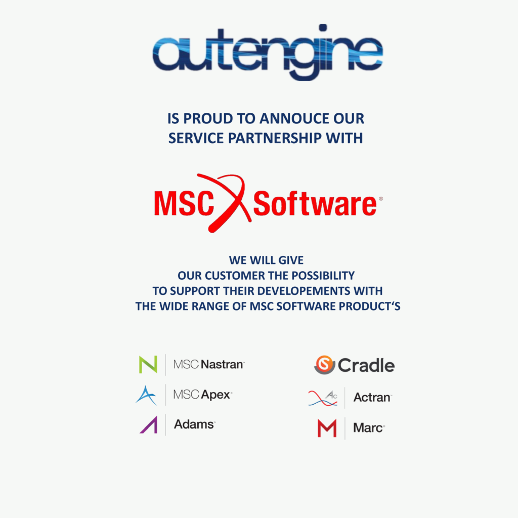 autengine + MSC Software Service Partnerschaft